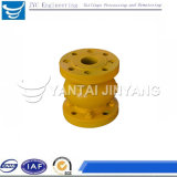 Form-Stahl-Flansch-pneumatische Quetscharmatur
