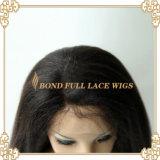 La parrucca brasiliana della parte anteriore del merletto di Glueless dei capelli del Virgin/in pieno merletta la parrucca