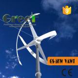 BVの証明書が付いている再生可能エネルギー5kwの縦の軸線の風車