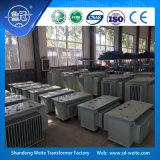 trasformatore a bagno d'olio a tre fasi di distribuzione 11kv per il trasporto di energia