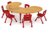 U-Shape Kids Party Tables e Chairs, Children Metal Table e Chairs
