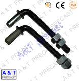 Rostfreier Steelcarbon Stahl/L-förmige Schraube mit Qualität