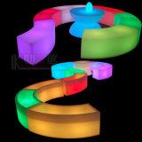 Tabourets portatifs d'éclairage de l'éclairage favorable à l'environnement DEL
