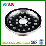 Steel inoxidable Pulley (support de pivot), Pully Wheel, Timing Belt Pulley