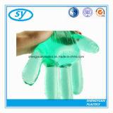 Ясные устранимые перчатки пластмассы еды