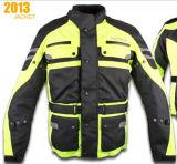 SGS BV (MB-T004J)が付いているメンズOxord Polyesterfのオートバイの衣類