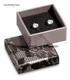 Caixa de embalagem de papel simples cinzenta do presente da jóia Jy-Jb150 para o anel