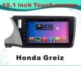 Androïde GPS van de Speler van de Auto DVD van het Systeem Navigatie voor Honda Greiz voor het Scherm van de Aanraking 10.1inch met Bluetooth/WiFi/TV