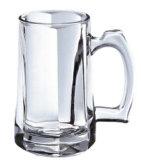 Diseño de la flor de la taza del vidrio de cerveza con la taza de la cerveza de la barra de la maneta