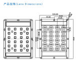 LED Street Light/Lamp Module Lens met 28 (4*6) LED van Seoel 4040 (4D Polarized Light)