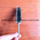 De nylon Schurende Borstel van de Buis van de Gloeidraad Materiële (yy-201)