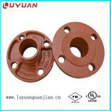 Encaixes e acoplamentos Grooved de tubulação do ferro Ductile com aprovações do UL de FM