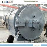 Doopr completamente aberto petróleo da pirólise do pneu de 10 toneladas que faz a máquina