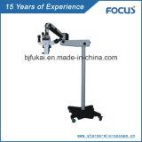 Microscopio óptico portable profesional del funcionamiento
