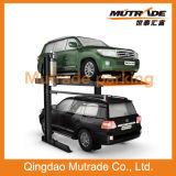 Garage elegante del Portable de la elevación del coche de poste de Mutrade que estaciona dos