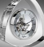 Regalos cristalinos al por mayor del cristal del reloj de vector del reloj cristalino
