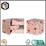 Cadre de empaquetage de carton de papier de tiroir de cadeau rigide de type avec la bande