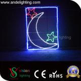 Feriado da alta qualidade/luz ao ar livre do frame do motivo do diodo emissor de luz decoração do Natal