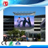 Im Freien farbenreiche Video P10 LED-Bildschirmanzeige für das Bekanntmachen des Bildschirms