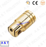 機械化の製造の中央機械装置部品を回すCNC鋼鉄/Brass/Aluminumlathe