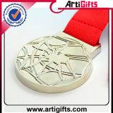 Medaglia superiore del metallo dell'argento di placcatura