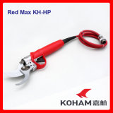 Koham lavora la batteria di litio di taglio dei rami dell'albero del tamarillo Loppers