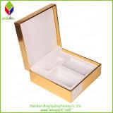 Vorzüglicher goldener Drucken-Duftstoff-verpackender Papiergeschenk-Kasten