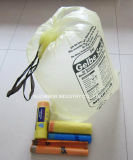 بلاستيكيّة واضحة صنع وفقا لطلب الزّبون [هدب] أو [لدب] حقيبة أسود [غربج بغ] على لف