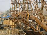 Embarcação da draga da sução do equipamento Drilling da areia para a mina da areia