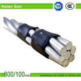 ACSR/Awのアルミニウムコンダクター、アルミニウム覆われた鋼鉄によって補強されるAWG 1/0 2/0の3/0の4/0のサイズ