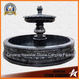 Fonte de mármore do granito da fonte da caraterística para a decoração Home