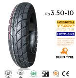 스쿠터 타이어 기관자전차는 관이 없는 모터바이크 기관자전차 타이어 기관자전차 타이어 3.50-10를 분해한다