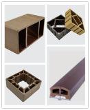 Máquinas de extrusão de perfil composto em madeira e plástico