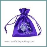 Kundenspezifischer Satin-Geschenk-Beutel-Geschenk-Beutel-Beutel mit Satin-Gewebe