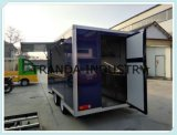 Rimorchio della cucina dell'asse del Mobile due con la cottura del Mobile Van dell'accampamento del carrello del cane di Equipmentshot
