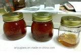 300ml 500ml 1000ml talló el tarro de cristal del coto para la miel, botellas del alimento