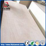 Hogar de los muebles de gran tamaño melamina / Okoume álamo de contrachapado para la hoja de cama de madera