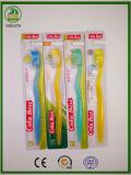 Transparente pp. handhabt sehr sehr sehr gute Verkaufs-Erwachsen-Zahnbürste