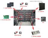 Fixes extérieurs installent l'Afficheur LED P10 polychrome pour la publicité