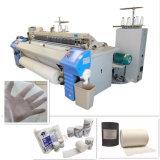 Máquina de tecelagem médica do jato do ar da maquinaria de matéria têxtil da gaze