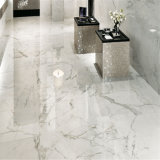 Pavimento Waterjet di marmo bianco di Calacatta per l'ingresso
