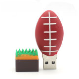 Azionamento della penna personalizzato azionamento dell'istantaneo del USB del PVC della sfera di sport