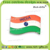 Ricordo personalizzato India (RC-IA) dei magneti del frigorifero del PVC dell'elefante dei regali di promozione