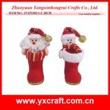 Uso del regalo del item del cargador del programa inicial de la Navidad del día de fiesta de la Navidad de la decoración de la Navidad (ZY16Y015-1 el 14CM)