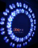 La nueva pista móvil 330 350 DJ de iluminación emite la luz