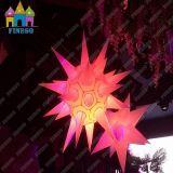 Stella gonfiabile LED dell'aerostato di illuminazione della stringa della decorazione LED