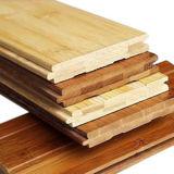 Plancher en bambou solide horizontal carbonisé