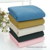 Tela impresa de la tela de algodón/tela polivinílica de la tela del hilado de lino de /Cotton de la tela del Polivinílico-Algodón