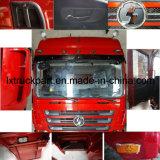 O caminhão de Sinotruck Hohan parte a grade do painel