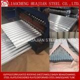 Material para techos de acero acanalado de SGCC con el tipo de la placa de acero